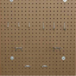 Masonite peg board