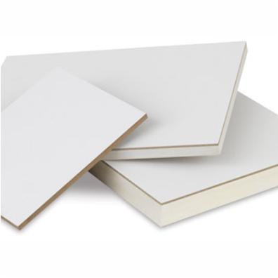 Masonite white board